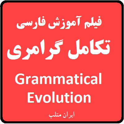 Grammatical Evolution MATLAB training video
