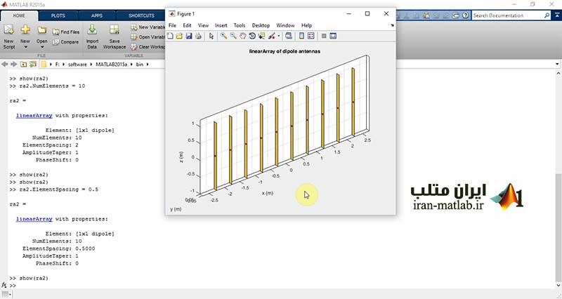 antenna toolbox MATLAB video tutorial download array