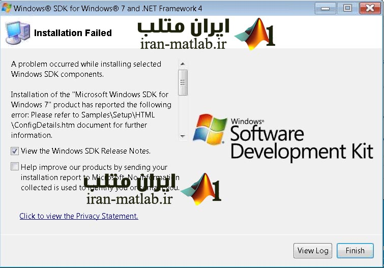 Windows SDK 7 MATLAB mex